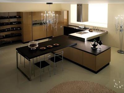 Casas minimalistas y modernas cocinas con desayunador for Cocinas ultramodernas