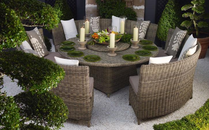 Estilo rustico mobiliario para jardines rusticos for Jardines rusticos fotos