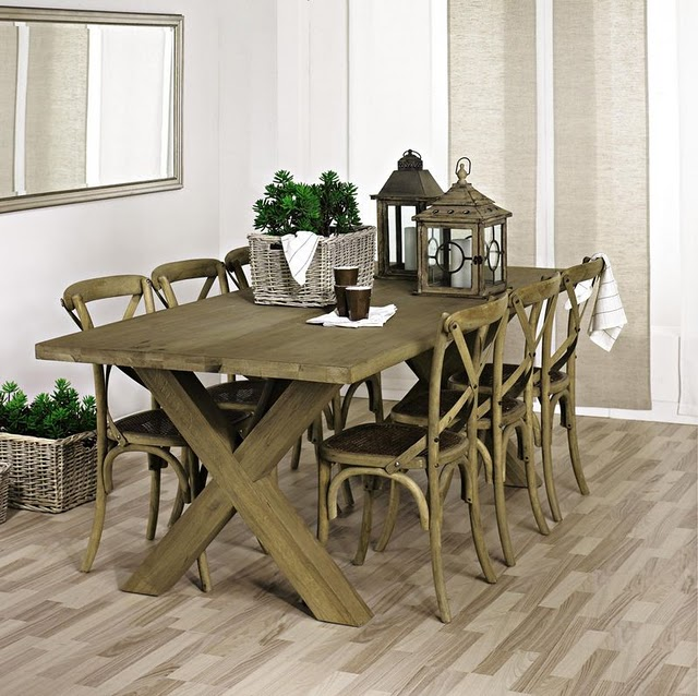 Estilo rustico centros de mesa rusticos i for Centro de mesa rustico
