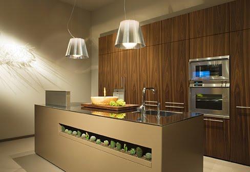 Casas minimalistas y modernas dise os de cocinas de holzinger for Cocinas ultramodernas