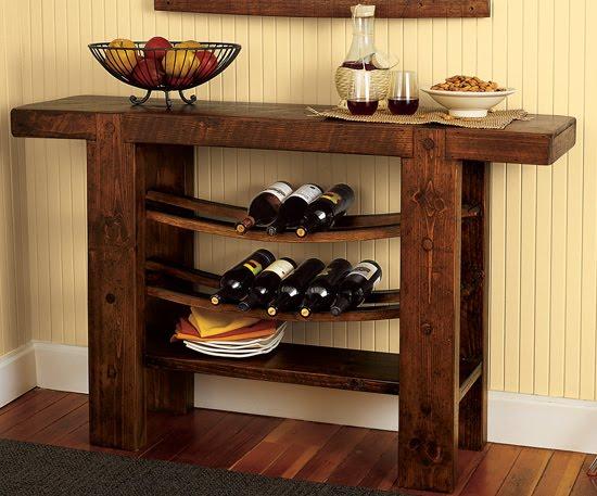 Estilo rustico mesas de sitio - Mesas japonesas ...
