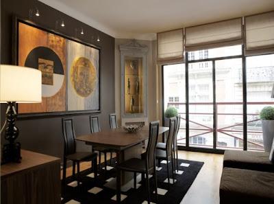 Casas minimalistas y modernas pinturas para interiores modernos - Pinturas para interiores de casas ...