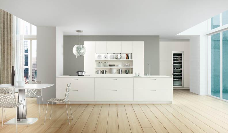 Casas minimalistas y modernas las cocinas val design - Casas blancas modernas ...