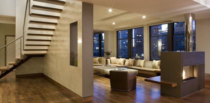 Casas minimalistas y modernas minimalismo en penthouses Pisos modernos para casas minimalistas