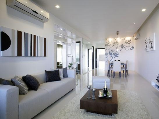 Casas minimalistas y modernas peque os pisos modernos for Pisos pequenos modernos