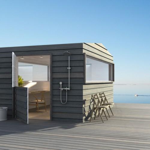 Casas minimalistas y modernas casas cubicas prefabricadas for Casas prefabricadas minimalistas