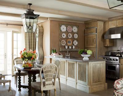 Interior sweet design rustico frances for Adornos para living rusticos
