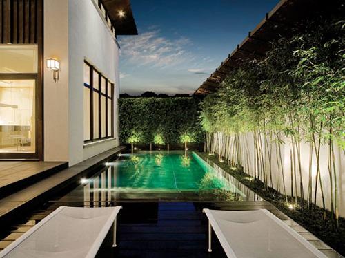 Casas minimalistas y modernas patios modernos y efectos for Patios interiores modernos
