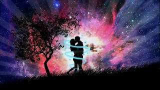 Love Couple In The Night Wide Screen wallpapers