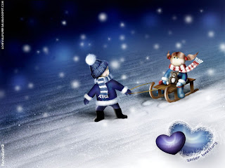 Winter Love Story HD Wallpapers