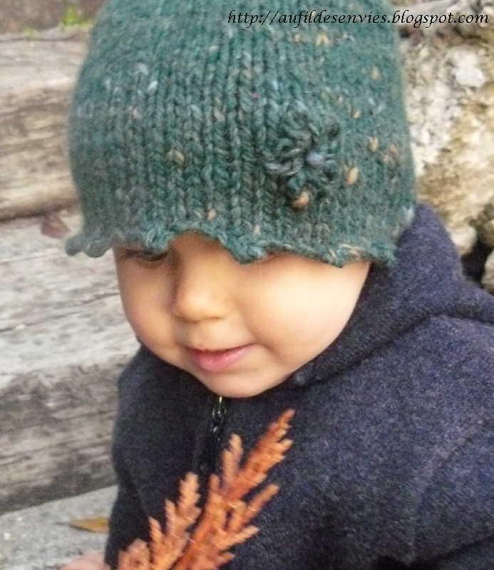 Aufildesenvies mod le gratuit un bonnet rapide et facile tricoter - Apprendre a tricoter gratuitement ...