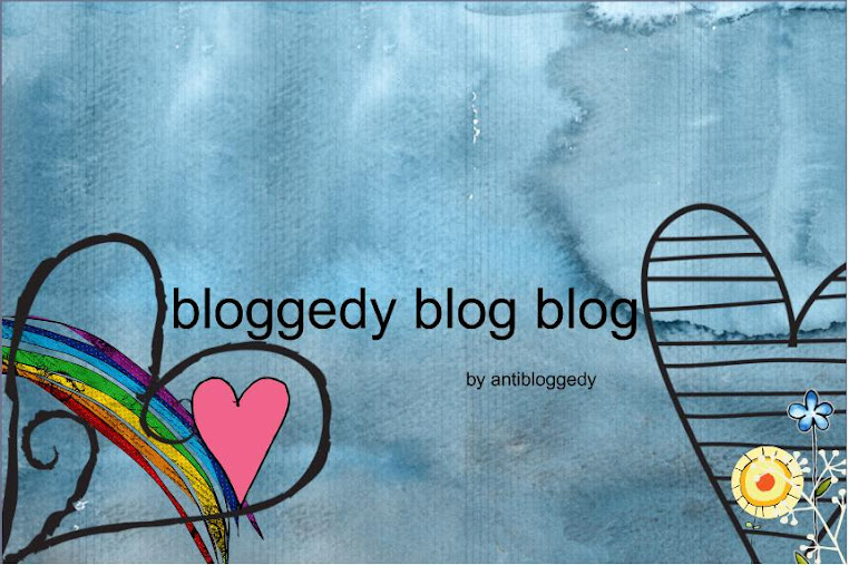 bloggedy blog blog