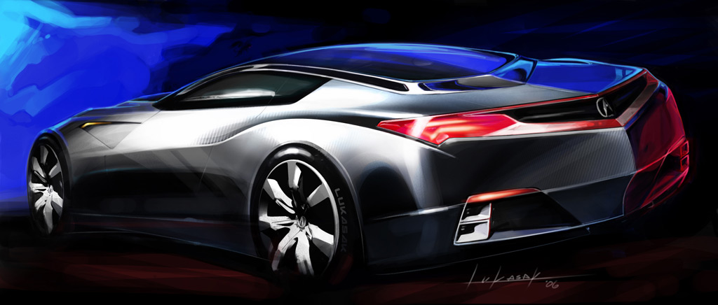 Picture and news angel car concept with futuristic look and a bit o