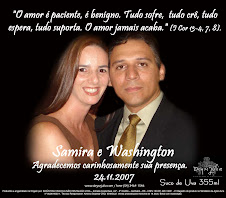 Samira e Washington