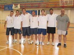 Cuerpo Técnico Campus  Tecnificación S. Javier 2008