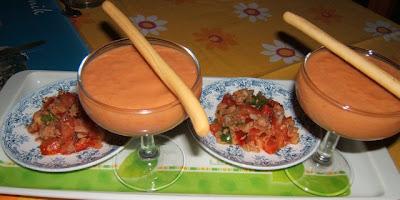 Gazpacho y salpicón