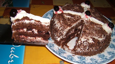 Torta selva negra / Gâteau Forêt Noire