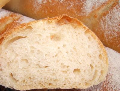 Baguette Monge con masa madre líquida