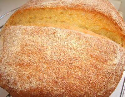 Pan con harina de maíz / Pain à la farine de maïs
