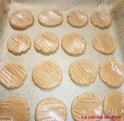 Masitas (galletas) de miel