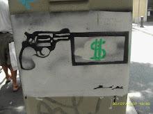 pistola de pega
