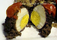 Solar Beef Heart Scotched Eggs