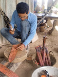 Villagers carve out a niche with traditional set of skills