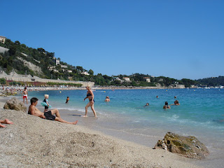 view to the east of Villefranche