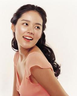 Korean Actress Han Ga