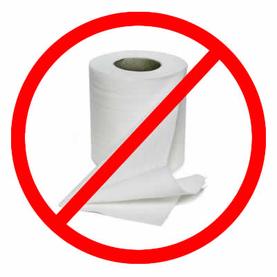 Not Buying Anything: Make It Last: Toilet Paper (Or How To Wipe With ...