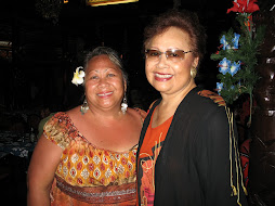 My late wife Fia and Masina Loi On (right)