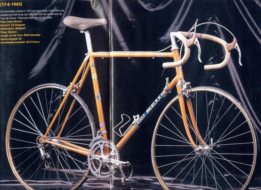 CICLISMO HISTORIA: Las bicicletas del Tour