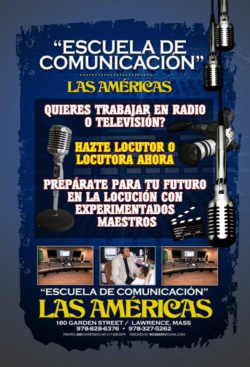 Escuela Comunicación Las Américas