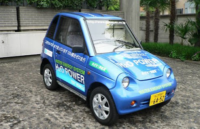 GENEPAX, el coche que funciona con agua