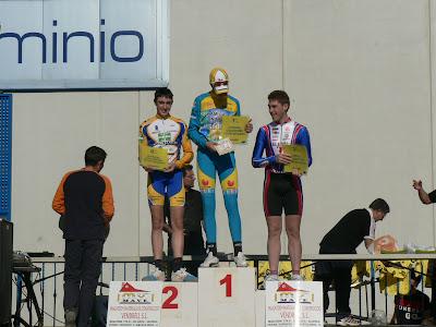 CArles i Iñaki al Trofeu de Seuca de Ciclocròs