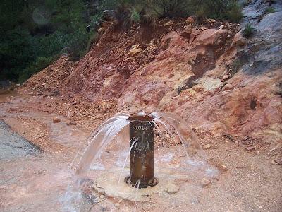 Captació d'aigua a la Pedrera
