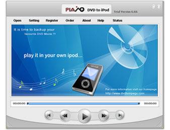 Plato DVD To iPod Converter V5.60 - DownloadKeeper
