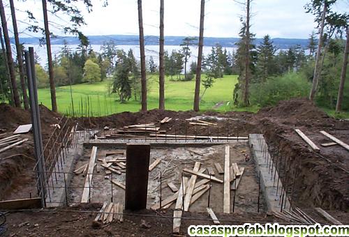 Prebuilt cabins joy studio design gallery best design for House foundation on slope