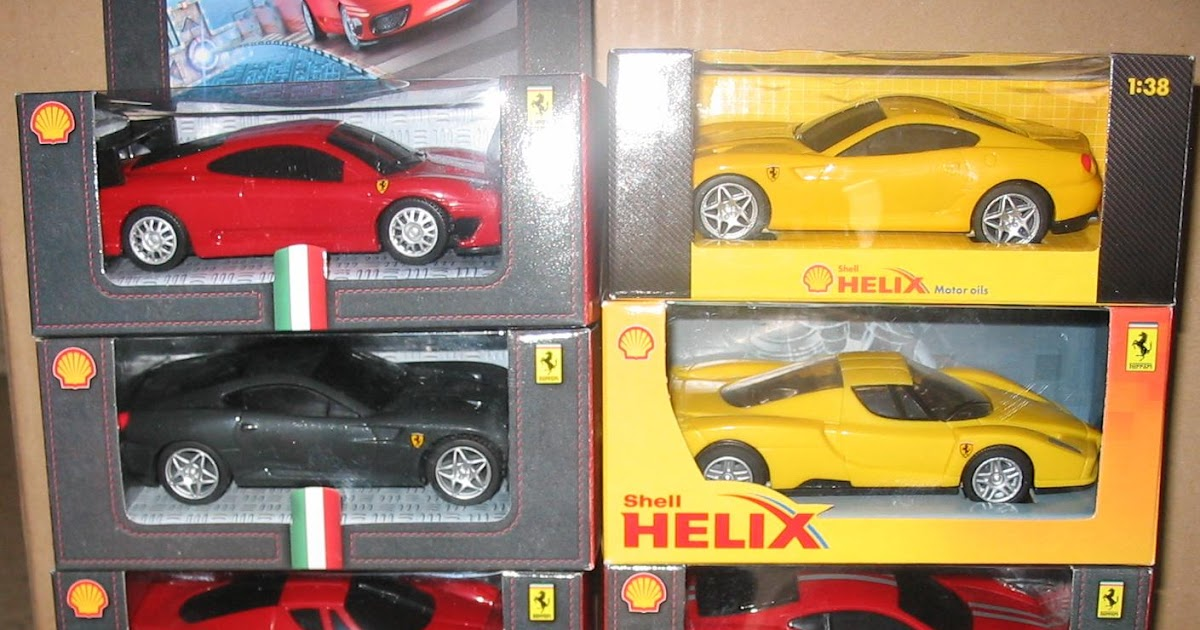 Action Figure Toys 2009 Shell V Power Ferrari Cars Collection