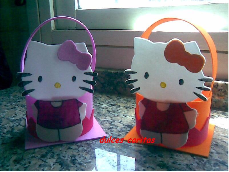 Souvenirs de Kitty de goma eva - Imagui