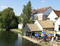 The riverbank in St Neots