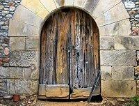 A mediaeval door