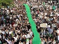 Street protest in Tehran