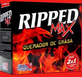 suplementos_rcia@hotmail.com: Ripped Max 2x1 (2 potes de 60 comp c/u