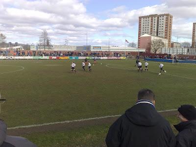 Wind Rain And Scotch Pies Clydebank FC V Pollok Holm Park