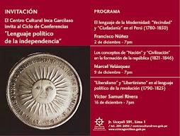 Conferencias de Historia Conceptual
