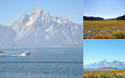 On our way back we stopped at Grand Teton National Park and enjoyed some . (yellowstone park )