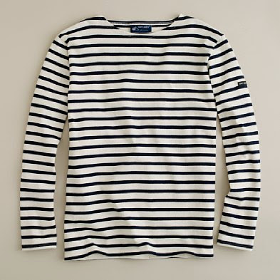 Booties bags and baubles best accessorized by the sea for Striped french sailor shirt