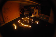 GUITAR AND TEA LIGHTS COLLABORATION