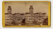 A photo showing the original Clock Tower on City Hall